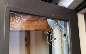 Halloween spinneweb